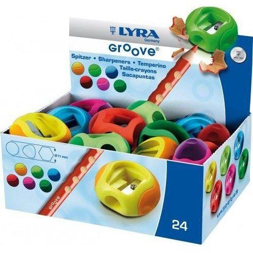 Lyra Groove ceruza hegyező - Kék - Vastag ceruzák hegyezéséhez Ft Ár 179