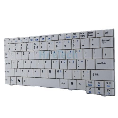 "New Acer Aspire One 8.9"" A110 A110X 110L 150 A150X 150L ZG5 Keyboard White US"