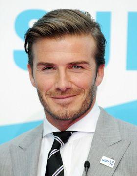 Mens Hair Style David Beckham