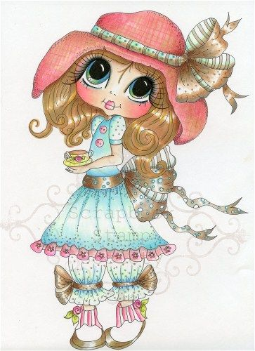 Gypsy Rose Tea Fine Art Print-