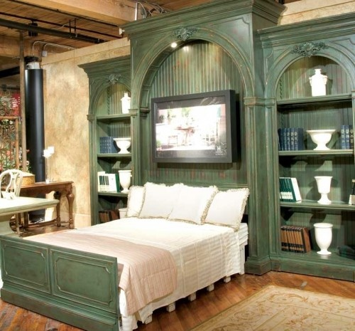 If you are going to go all out with any room in your house, the bedroom is the place to do it…