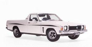 A73361 - HOLDEN HJ SANDMAN UTE - COTILLION WHITE (1974) - Biante Model Cars