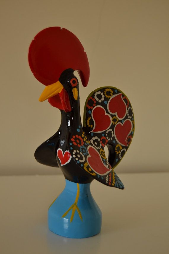 Portuguese Traditional Rooster. Totally by FeiradeBarcelos on Etsy