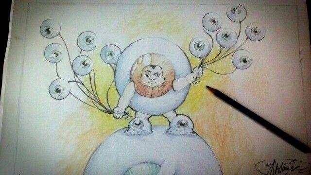 "#drawing SPY By ""Bdul"""