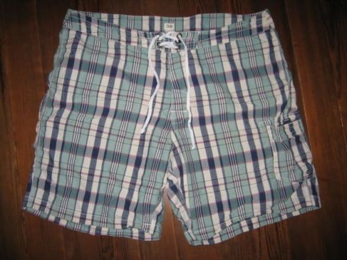 J Crew Men's Swim Suit Trunks Board Shorts Size 38 XL Look ...