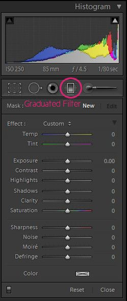 5 Tips for Working with the Graduated Filter | Pretty Presets for Lightroom