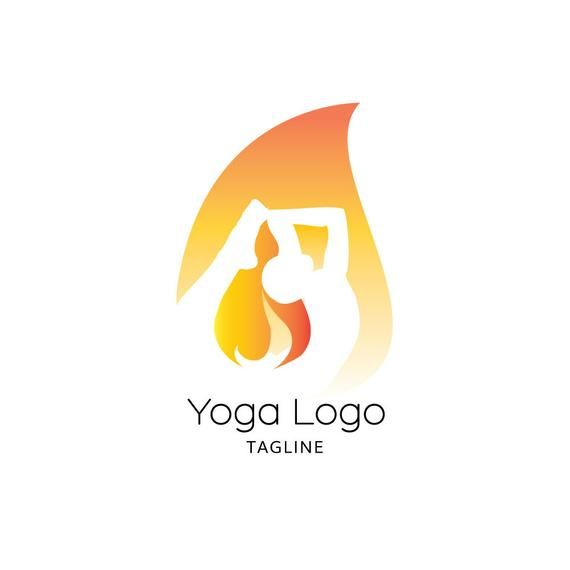 yoga logo hot yoga logo meditation logo bikram yoga flame logo fire logo lotus pose logo premade logo logo design graphic desig in 2020 yoga logo design yoga logo unique logo pinterest