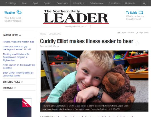 Elly and Elliot's News