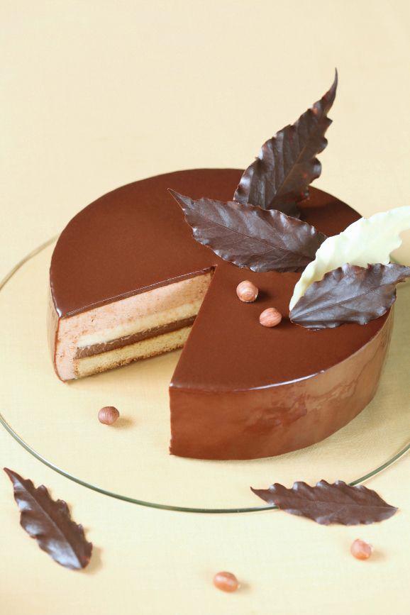 Verdade de sabor: Торт-мусс с шоколадом и фундуком / Torta mousse de chocolate e avelã