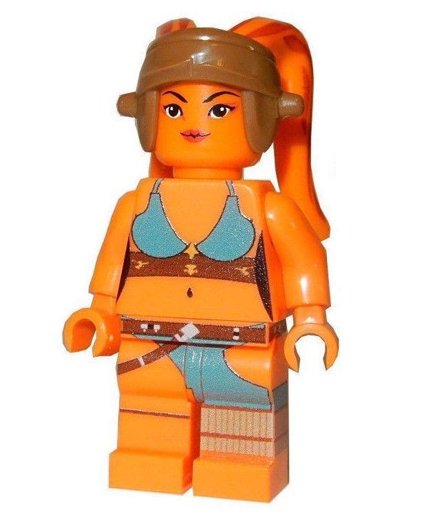 **NEW** LEGO Custom Printed TWI/'LEK BOUNTY HUNTER Star Wars Female Minifigure