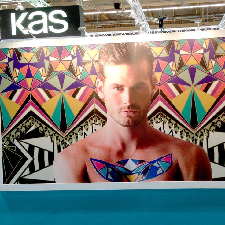 Kas stand at HeimTex 2015, Frankfurt