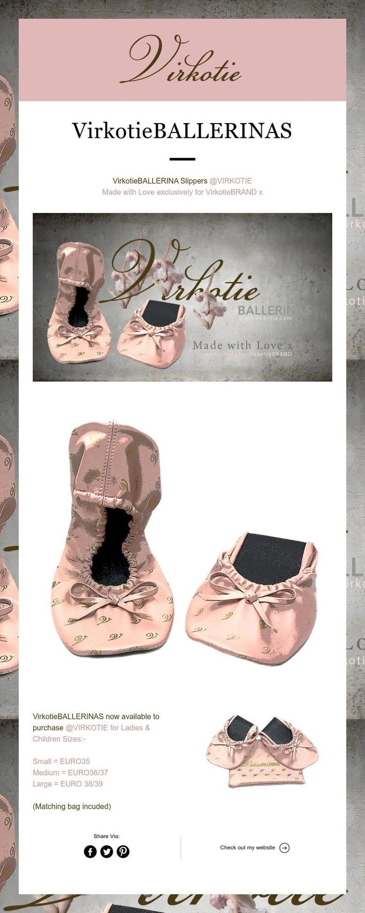 VIRKOTIE Ballerinas ... Stylish Slippers for tired feet!