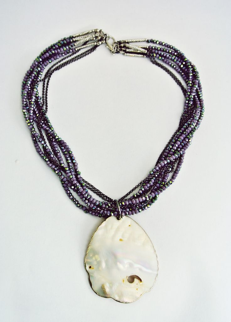 Mother-of-pearl Necklace - Miss Butcher Collection.