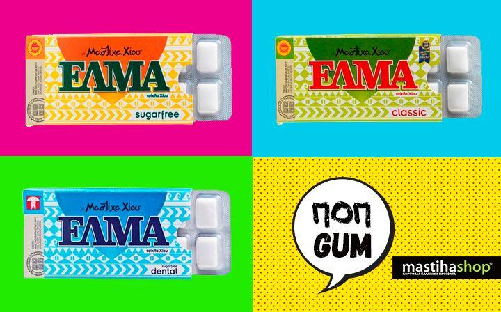 #chewing #gum with #mastiha #popculture