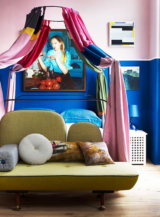 draped bed - desire to inspire - desiretoinspire.net