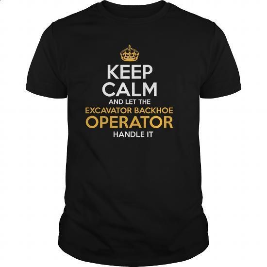 Awesome Tee For Excavator Backhoe Operator - #t shirts online #hoody. ORDER NOW => https://www.sunfrog.com/LifeStyle/Awesome-Tee-For-Excavator-Backhoe-Operator-130965005-Black-Guys.html?60505