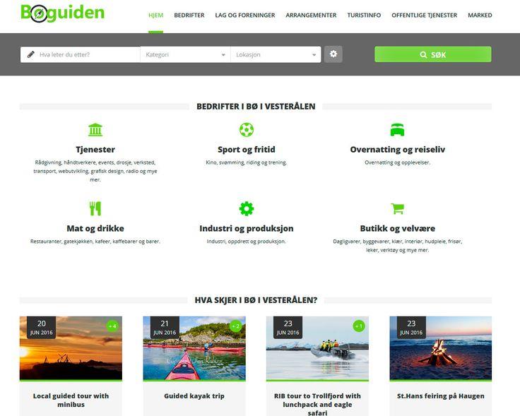 Nettside og design av Bøguiden. Levert av Nettrakett AS
