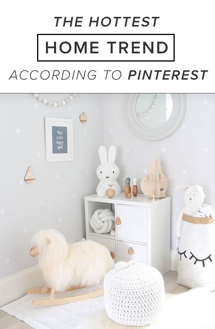 The Hottest Home Trend, According to Pinterest
