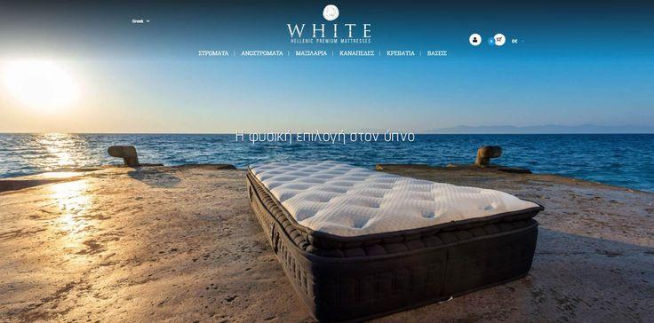 WHITE Hellenic Premium Mattresses