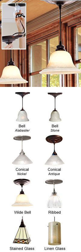 instant pendant light easily replace recessed lights solutions. Black Bedroom Furniture Sets. Home Design Ideas