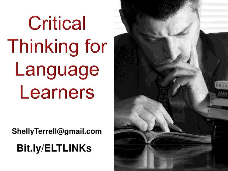 Creative and Critical Thinking in Language Classrooms