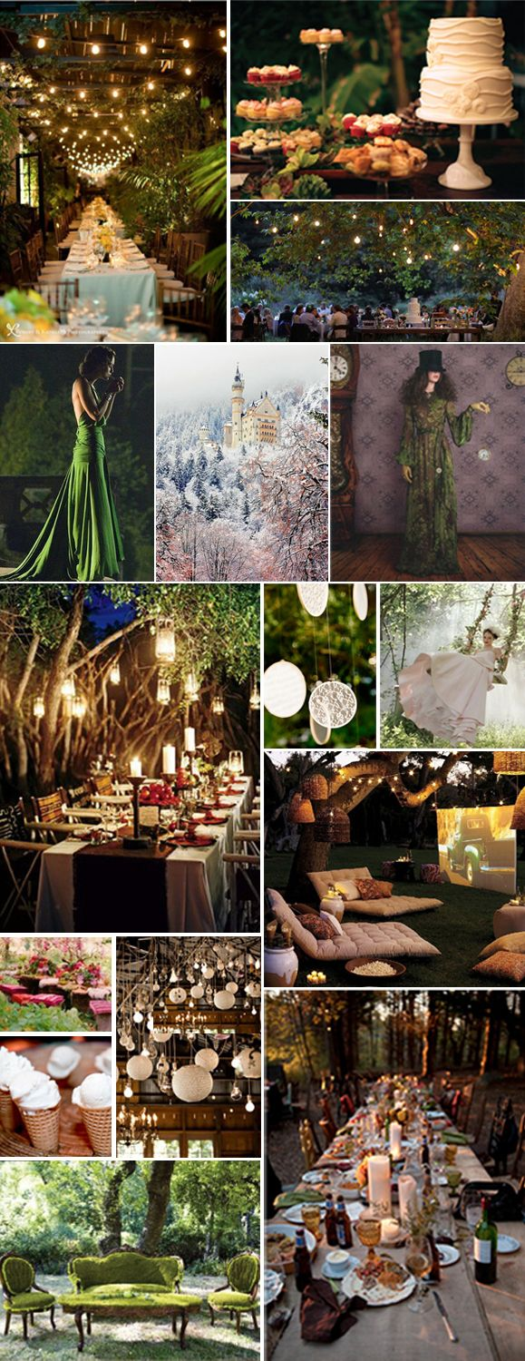 Enchanted Forest Wedding Theme Decorations | Final 30th Theme