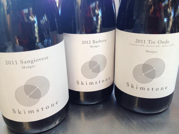 Great Mudgee wines from Skimstone #mudgee #barberra #aussiewine