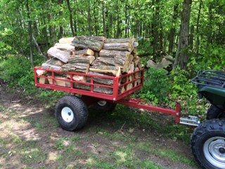 Single Axle ATV Utility Dump Trailer Model 5450ATV by Country ATV