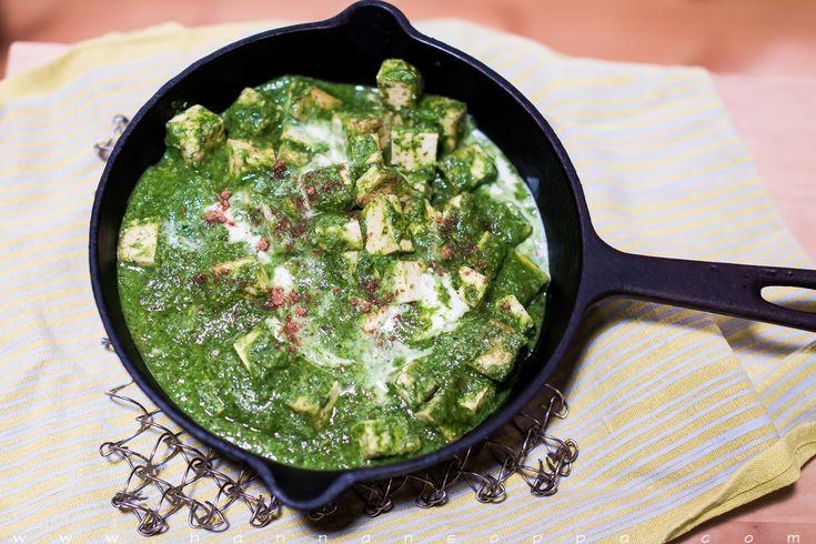 Palak Tofu / Hannan soppa