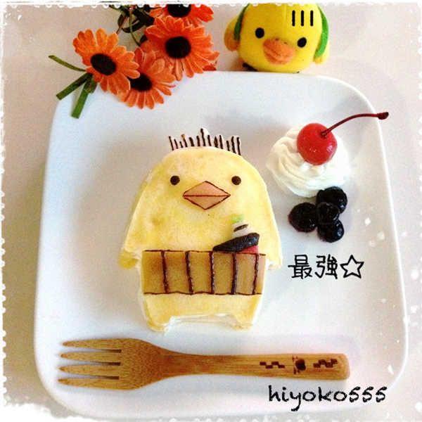 バリィさんのミルクレープ。 ♥ Dessert