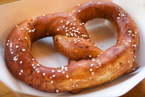 bucket list: best soft pretzel in nyc