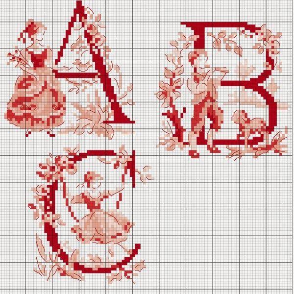 Милые сердцу штучки: Вышивка крестом: Алфавит в стиле Туаль де Жуи от Les Brodeuses Parisiennes