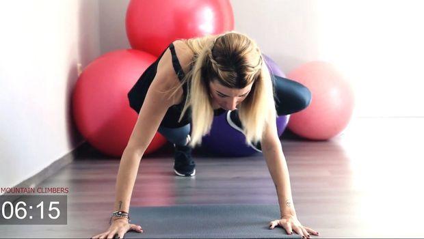 Το LadyLike.gr και η personal trainer Σοφία Περδίκη σε μυούν στο Tabata, το πιο boosting fitness workout της χρονιάς.