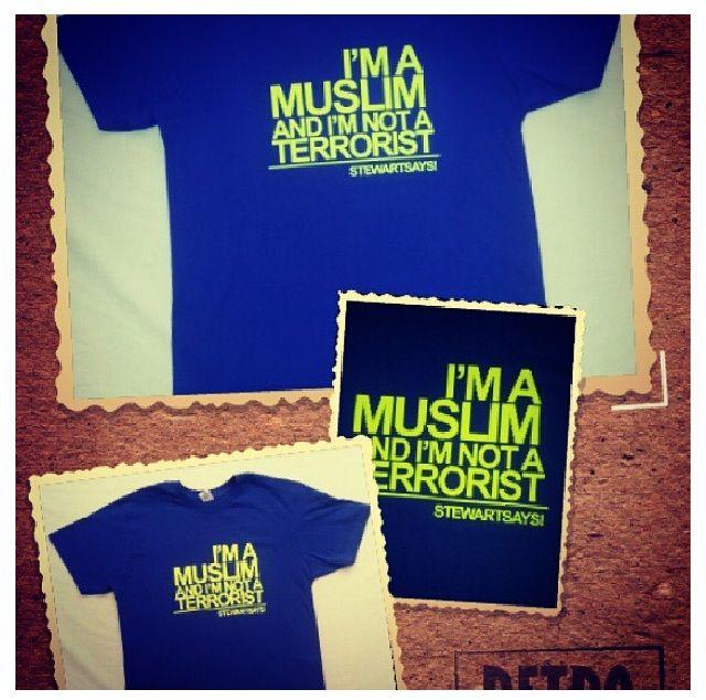 I am a #muslim I am not a #terrorist #royal #blue #tshirt  Design Custom T-Shirts & Gifts with Creativity Shout in Jeddah. Visit Jeddah Store in Faysaliyah for Great Offers. Call +96626981962, visit www.pimpurshirt.biz Jeddah custom t-shirts & gifts Follow @Pimpurshirt Tee Email tee@pimpurshirt.com Store Jeddah, Saudi Arabia  Web http://www.pimpurshirt.biz Facebook http://Facebook.com/pimpurshirt Instagram http://instagram.com/pimpurshirt