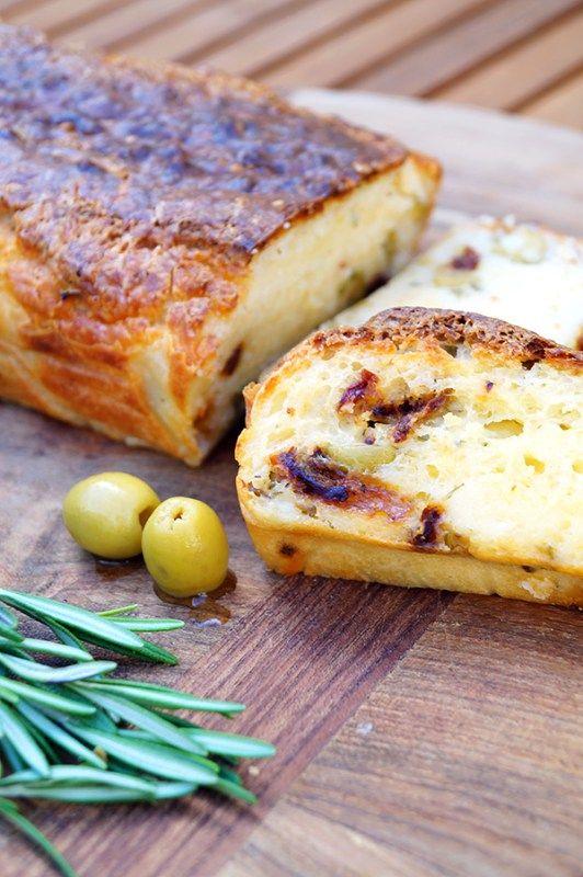 glutenvrij olijfbrood