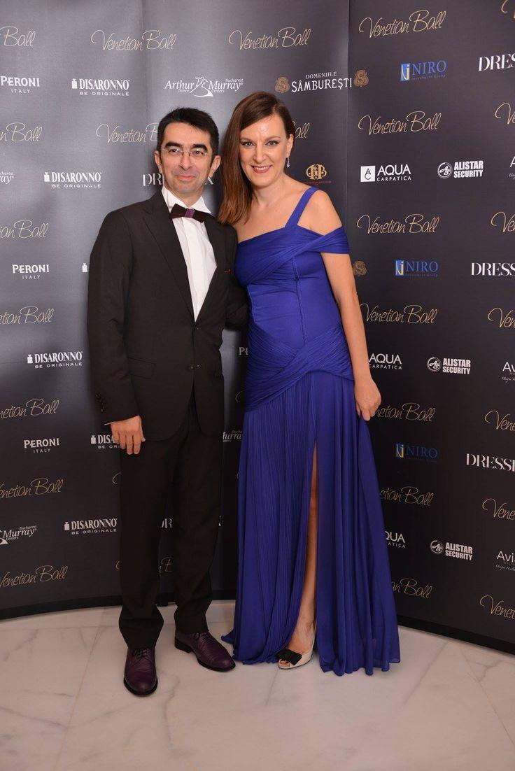 Mihai Gainusa wearing Don Papillon! The romanian radio and TV star is wearing Don Ruiz model, an elegant palisander wood bow tie.