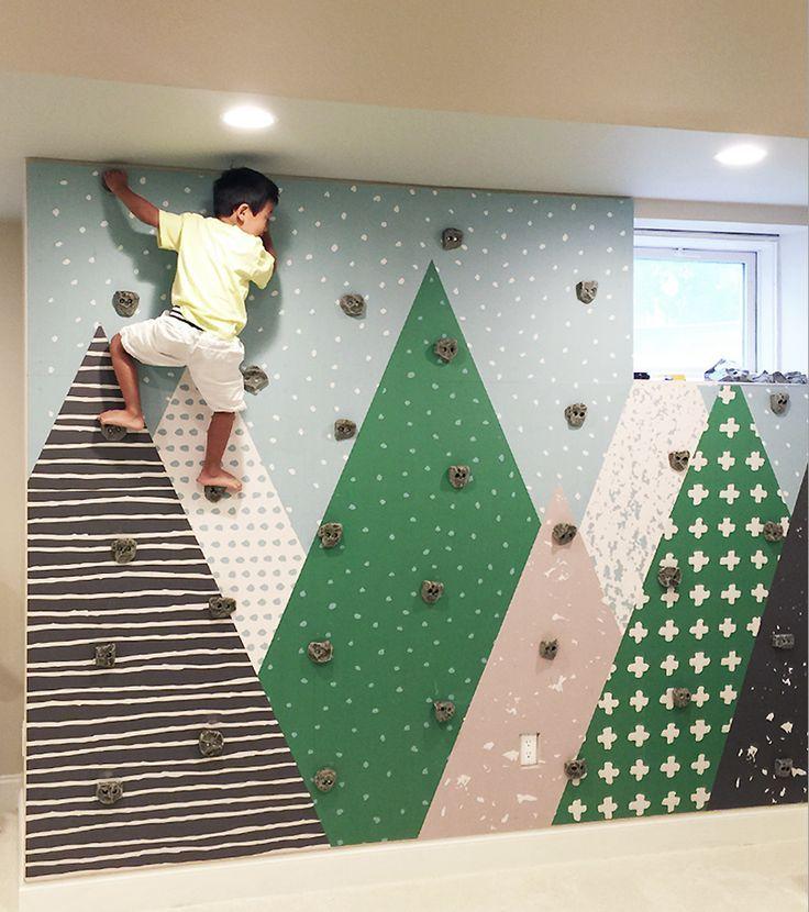 Wie baut man eine Kinder-Felswand? Fühlen Sie sic…