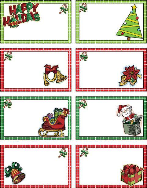 Best 25+ Christmas tag templates ideas on Pinterest | Christmas ...