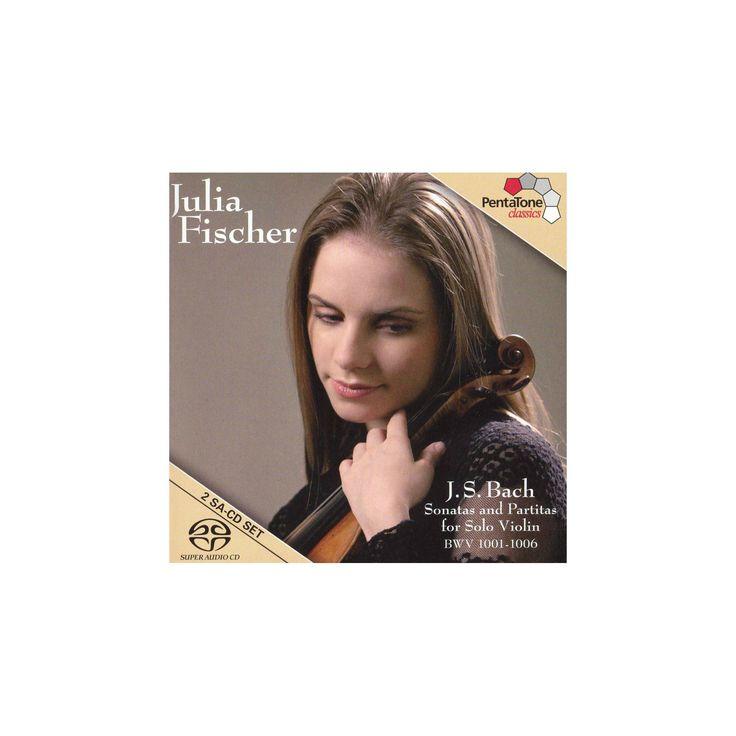 Julia fischer - Johann sebastian bach (CD)