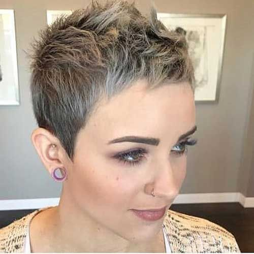 Stylish 20 Cute Short Pixie Haircuts Pixie Hairstyles Always Appear To Be In Style And There Are Cheveux Tres Courts Coupe De Cheveux Coupe Cheveux Tres Court