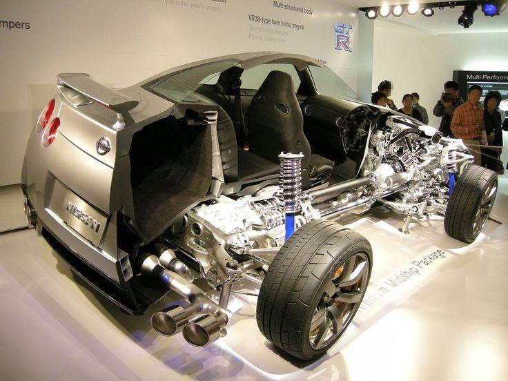 Nissan GT-R cutmodel - Nissan GT-R - Wikipedia