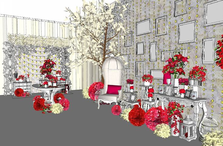 Photogallery Design for Riyou&Rei 130915 #weddingsketch #weddingsketchup #weddingsketch3d #weddingdrawing #weddingdrawing3d #weddingphotogallery #photogallery #photogallerydesign #weddingdesign #weddingdecoration #weddingidea #weddingfoyer