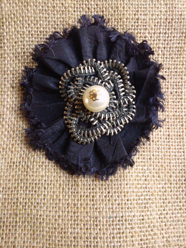 #brooch #fabric #craft