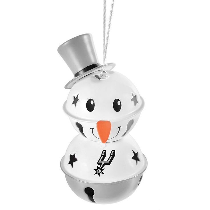 Christmas Tree San Antonio: Forever Collectibles San Antonio Spurs Snowman Bell