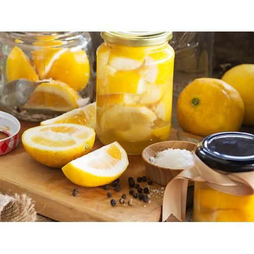 A common ingredient in Moroccan and some Middle Eastern cuisines, preserved lemons add a wonderfully complex citrus note to both sweet and savoury dishes and they're so easy to make