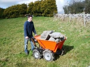 Muck Truck Mini Dumper can easily move rubble and building materials. The 4WD Muck Truck Power Barrow moves building materials over most terrains. The Muck Truck is used by builders, landscapers and tree surgeons.  http://www.fresh-group.com/muck-truck.html