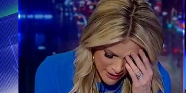 Kelly has spent the better part of every week night on her Fox News TV show slamming Trump for 18 months. There was little doubt among viewers that she was a shill for Hillary Clinton and was even called that by colleague Sean Hannity recently.  Priceless: Watch Megyn Kelly's Thousand-Yard Stare As Trump Emerges as Next U.S. President   True Pundit  o-megyn-kelly-perry-facebook