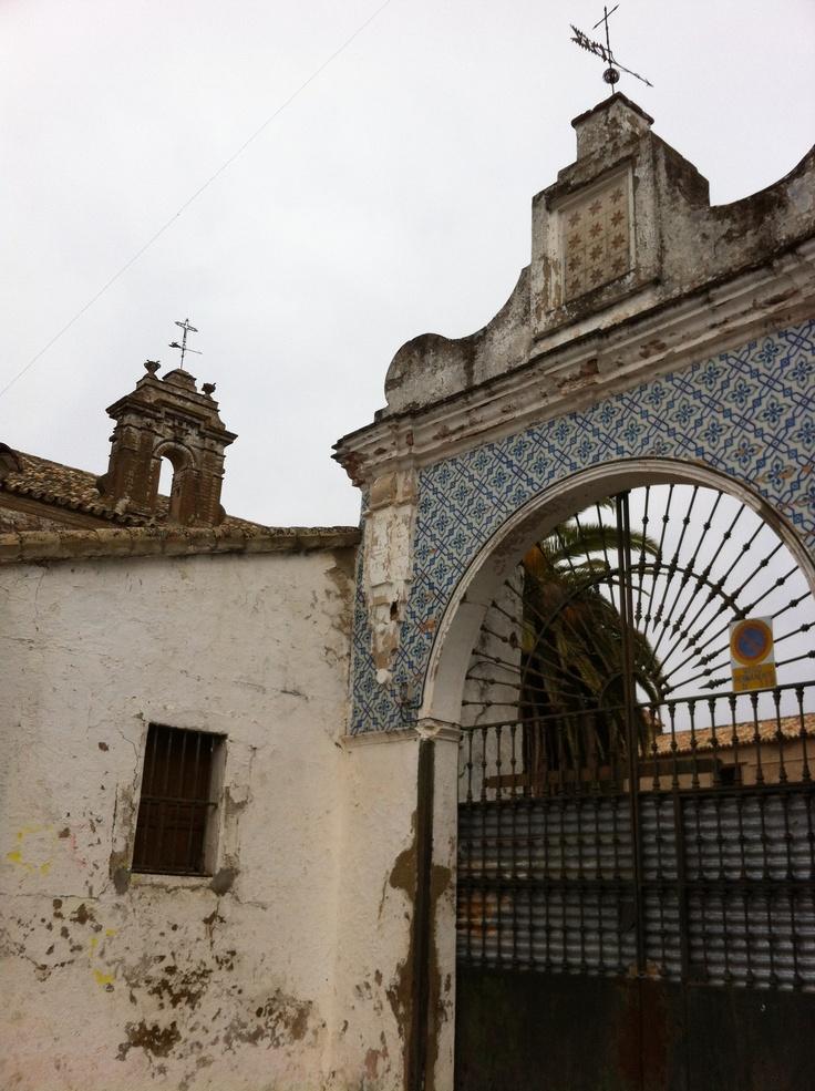 La Cartuja, old monastery in El Pedroso