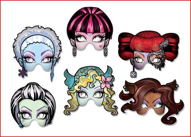 mascaras de monster high - Buscar con Google