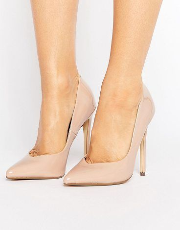 On SALE at 50% OFF! Wicket Blush Heeled Pumps by Steve Madden. Heels by Steve Madden, Faux-leather upper, Patent finish, Slip-on style, Pointed toe, Pointed high heel, Wipe with a ...